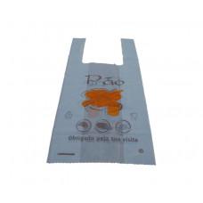 Saco Alça AD Impresso Pão 35x45cm Kg