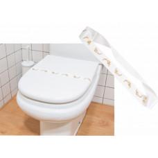 """Banda """"WC"""" p/ Tampo de Sanita Emb. c/ 1000 Un."""