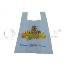 Saco Alça AD Impresso Fruta 45x55cm Kg