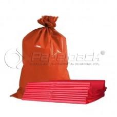 Saco Lixo 52x60cm Vermelho Kg