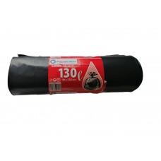 Rolo de Sacos Lixo 90X130cm Preto 130L Un.