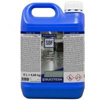 Detergente desinfetante clorato bactericida fungicida e virucida Aquagen SDF 5L