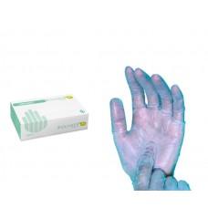 Luvas Polymer Azul s/ Pó Tamanho L Cx. c/  200 Un.