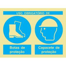 Sinal Combinado de Protecção PVC Fotolum Un.