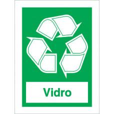 Sinal Ecoponto Verde PVC Fotolum Un.