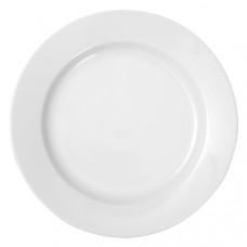 Prato Raso (0) 27cm Branco SOLID