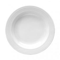 Prato Sopa (2)  23X4cm  Branco ROULETTE
