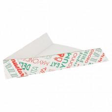 Triângulo p/ Pizza Emb. c/ 200 Un.