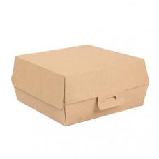 Caixa hambúrguer de cartão 17,5X18X7,5cm XL 100 un.