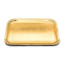 Bandeja de Cartão Dourada nº 5E 43x21cm Emb. com 100 Un.